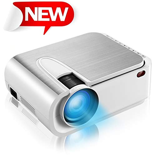 Projector, Dinly HD 3800 Lux Video Projector with 200
