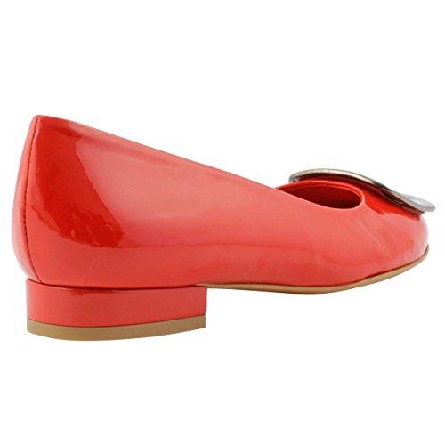 Exclusif Paris Women's Ballet Flats Red aTOCP1a