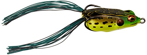 BOOYAH 1/4-Ounce Pad Crasher Jr. Frog, 2-Inch Length, Bullfrog Finish