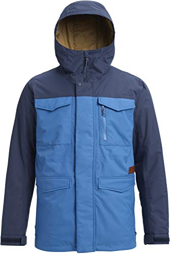 Burton Men's Covert Jacket, Vallarta Blue/Mood Indigo, Small