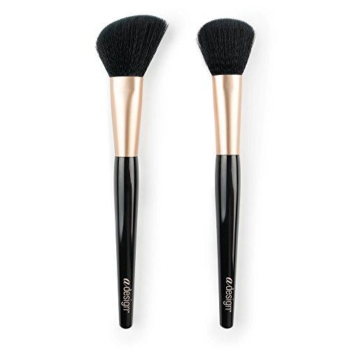 aDesign Professional 2 Piece Makeup Brush Kit – Blush Power Duo