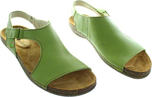 El Naturalista  N309, Sandales pour femme vert Green