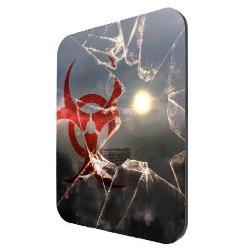 [Zombie Quarantine Glass - Mousepad] (Zombie Quarantine)