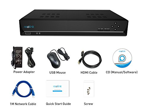 Reolink PoE NVR 16 Channel Includes 3TB-FBA_RLN16-410