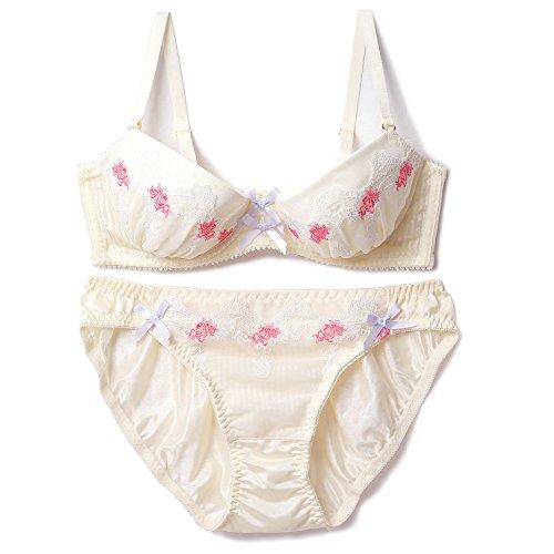 症候群抽出協定(フランデランジェリー) Innocent Garden (E-Fカップ) ブラジャーショーツセット イノセントガーデン fran de lingerie