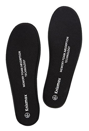 Knixmax Women Memory Insoles Comfort Shoe Inserts Shock Absorption...