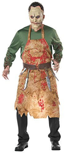 Seasons Direct Halloween Men Bloody Butcher Costume -