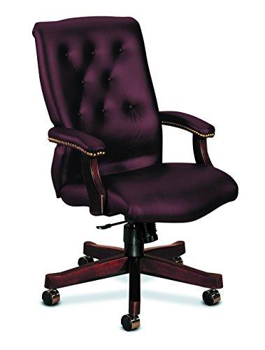 - HON HON6541NWP27 6540 Series Task Chair, Merlot WP27