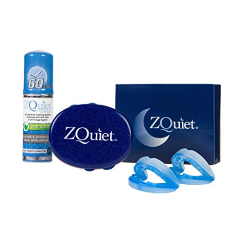 ZQuiet® Anti-Snoring Starter Kit & Cleaner