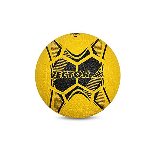 Vector X Street Soccer Rubber Moulded Football  Size 5