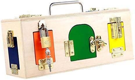 B Blesiya Caja de Cerradura Colorida Creativa Montessori Niños ...