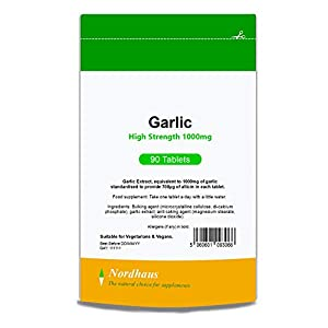Garlic 1000mg Tablets – 90 Pack