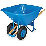 Wheelbarrow, Poly, 10 Cu. Ft, Pneumatic