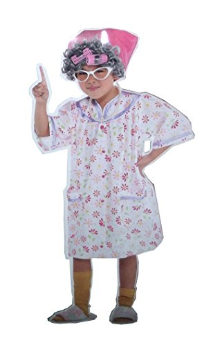 Amscan Girls Little Old Lady Costume - Medium (8-10) -