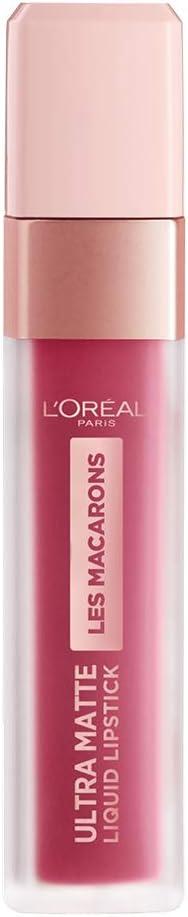 L'Oréal Paris - Les Macarons, Pintalabios Mate Permanente Rosa Amarronado