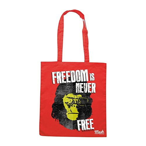Borsa PLANET OF APES FREEDOM 2 - Rossa - FILM by Mush Dress Your Style