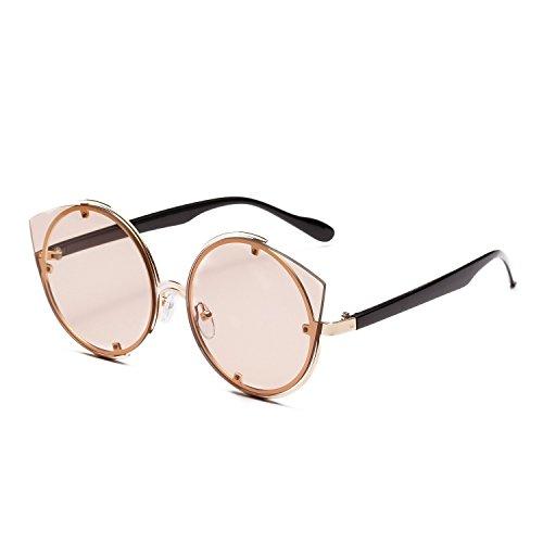 Clásico Redondo polarizadas metálico Aire Sol inspirado Gafas Polarizado al UV400 Libre de Vintage Portección Sunglasses Unisex SCzwq6Z8wx