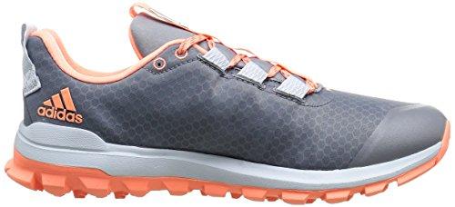 Adidas Performance Womens Vigor 6 Tr W Scarpa Da Corsa Grigio / Sole Giallo / Blu