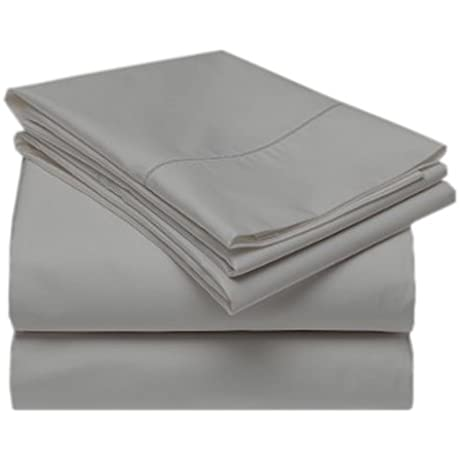 QBC Bundled Gotcha Covered Terra Collection 100 Prcnt Certified Tencel Bed Sheet Set W Smarty Bandzz Split Queen Up To 11 In Low Profile Dove Color Plus QBC EGuide