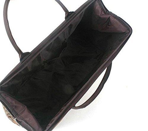 ilishop Women's Retro Vintage Style Travel Bag Shoulder Hobo Bag Purse Handbag Tote New (Newspaper) by ilishop (Image #2)