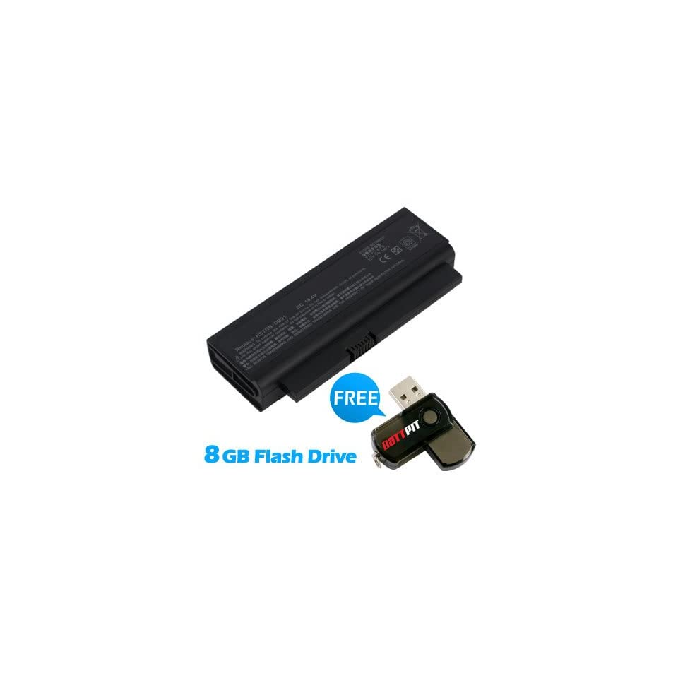 Battpit™ Laptop / Notebook Battery Replacement for HP NBP4A165B1 (2200 mAh / 32Wh) with FREE 8GB Battpit™ USB Flash Drive