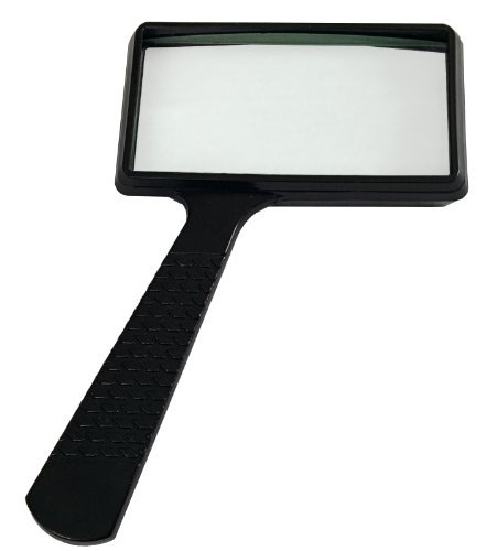 Heritage Products Rectangular Magnifying Glass