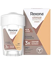 Rexona Women Clinical Protection Antiperspirant Deodorant Summer Strength, 45ml