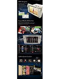 Cámara trasera hizpo incluida para Toyota Camry 2007 2008 2009 2010 2011 8 pulgadas Reproductor de DVD Indash CAR Navegación GPS Navi iPod Bluetooth HD Radio con pantalla táctil RDS FM + Tarjeta de mapa GPS de EE. UU. gratis
