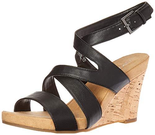 LVERPLUSH Sandal, Black, 9.5 M US ()