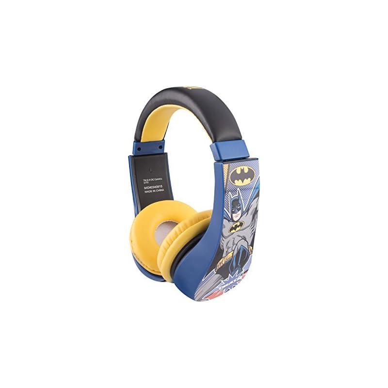 Batman 30382 Kid Safe Over the Ear Headp