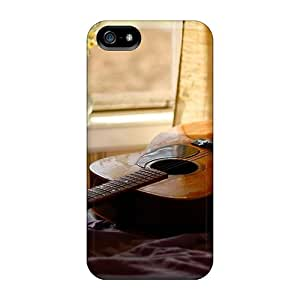 5/5s Scratch-proof Protection Case Cover For Iphone/ Hot Guitar Window Phone Case