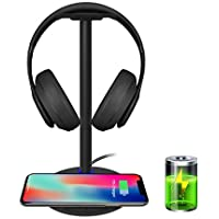 Wireless Charging with Headphone stand New Bee Sturdy...