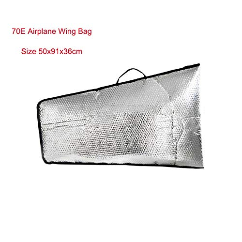 Hockus Accessories 1 Piece Fixed Wing RC Airplane Model Protection Wing Bag 70E - Bags Airplane Wing Rc