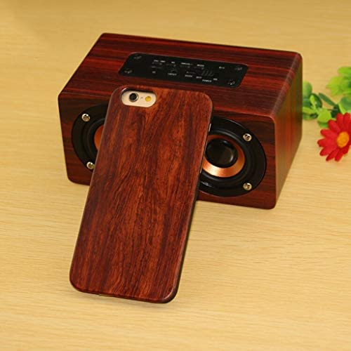 LAOHAO 携帯電話ケース純木保護カバー完全に一致した携帯電話をインストールするのは簡単元のマシンを開く金型360°木材 防水携帯電話ケース (Color : 6, Size : Iphonex r)