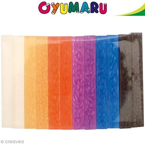 Oyumaru set 12 breads colors assorted N/°2 Novelty 2012 Block of moulding