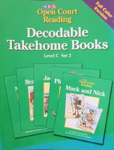 SRA Open Court Reading. Decodable Takehome Book, Level C Set 2. Blackline Masters