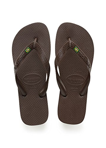 Adulto Marrón Havaianas Unisex 0727 para Brown Dark Brasil Chanclas wFTFqOI