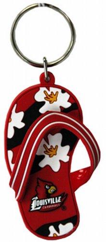 Cardinals Flip Flop - NCAA Louisville Cardinals Flip Flop PVC Keychain