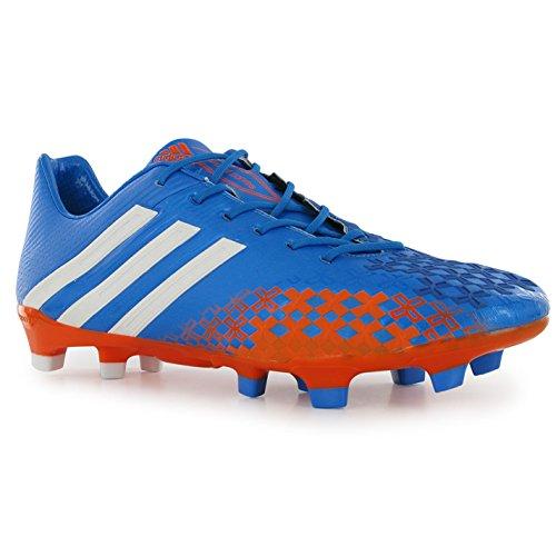 Adidas Prédateur Lz Trx Fg Football Cleat Bleu / Orange Taille 9