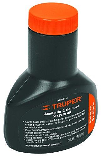 Truper ACT-2T-4 Aceite para Motor de Dos Tiempos, 4 Oz