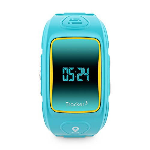 GPS Uhr für Kinder, Smartwatch, Ortungsuhr mit Telefonie, SOS-Knopff, 400mAh Akku, Inkl. Prepaid Sim-Karte von Vodafone, Quad-Band (850/900/1800/1900MHz), SMS, GSM, GPS