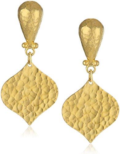 GURHAN Clove Yellow Gold Drop Earrings