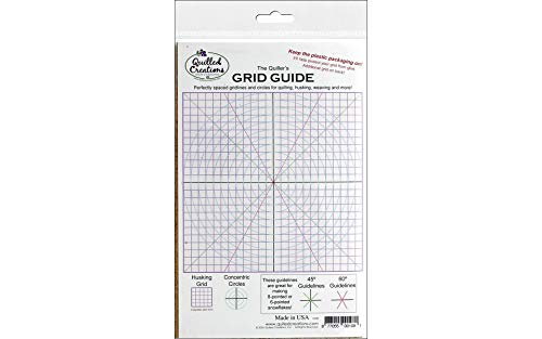 Quilled Creations The Quiller's Grid Guide for Paper Crafting, 8 by 5-Inch