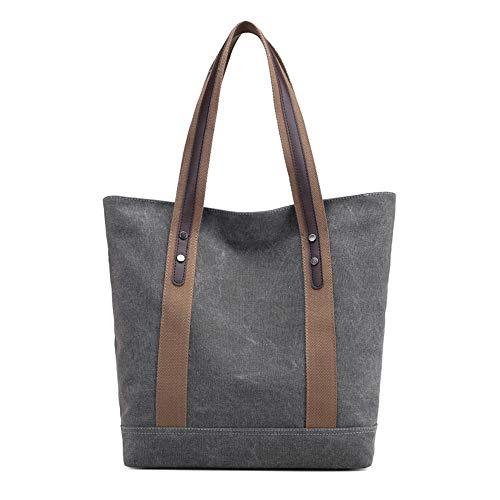 Women's Canvas Grey Handbag Shoulder KISS Tote TM Handle Bag Bag Top GOLD Hobo Single TOtgtx