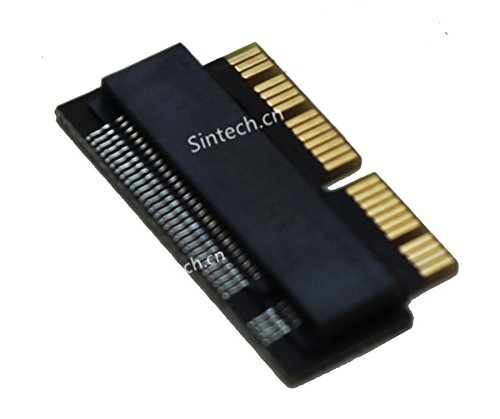 Sintech NGFF M.2 nVME SSD Adapter Card for Upgrade MacBook Air(2013-2016 Year) and Mac PRO(Late 2013-2015 Year) (Macbook Pro Retina 15 2015 Ssd Upgrade)