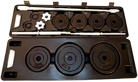 c8bb06edb Kit Barra + Anilhas 30kg - Wct Fitness 014  Amazon.com.br  Esportes ...