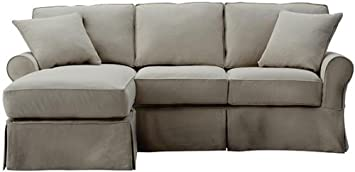 Amazon Com Mayfair Sofa And Chaise Slipcover 37 Hx95 Wx70 D