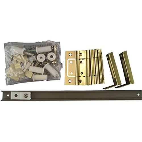 Installing Bi Fold Doors (National/Stanley Hardware 21020427 Bi-fold 4-panel Door Hardware Set 60
