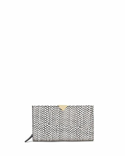 Vince Camuto Zinia Wallet, Black/White, One Size