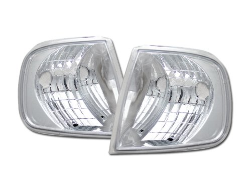 CHROME CLEAR SIGNAL PARKING CORNER LIGHTS LAMPS K2 97-02 03